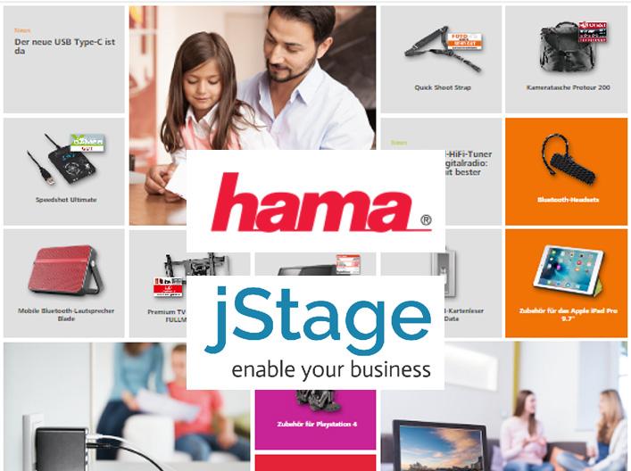 jStage PIM managt die Produktdaten bei Hama GmbH & Co KG