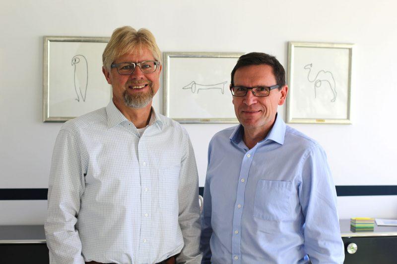 Die Geschäftsführer der iSYS Software GmbH - Michael Sailer und Prof. Dr. Peter Mandl