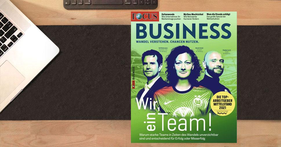 """iSYS erneut als """"Top-Arbeitgeber Mittelstand"""" von FOCUS BUSINESS ausgezeichnet"""